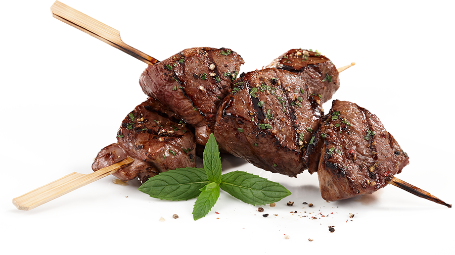 Skewered Lamb with Sweet & Salty Marinade