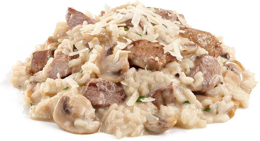 Lamb and Mushroom Risotto